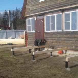 Строительство фундамента в Киржаче